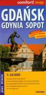 Gdańsk Gdynia Sopot plan trójmiasta 1:26 000