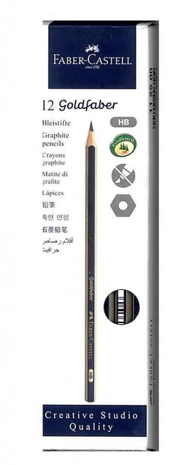 Ołówek Goldfaber 1221/4B (12szt) FABER CASTELL