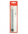Ołówek Grip 2001 HB,B z gumką 2 sztuki
