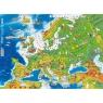 Europa mapa fizczna. Podkładka na biurko