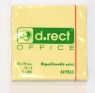 Notes samoprzylepny 76x76mm żółty D.RECT