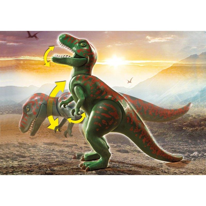 Playmobil Dinos: Atak T-Rexa (70632)