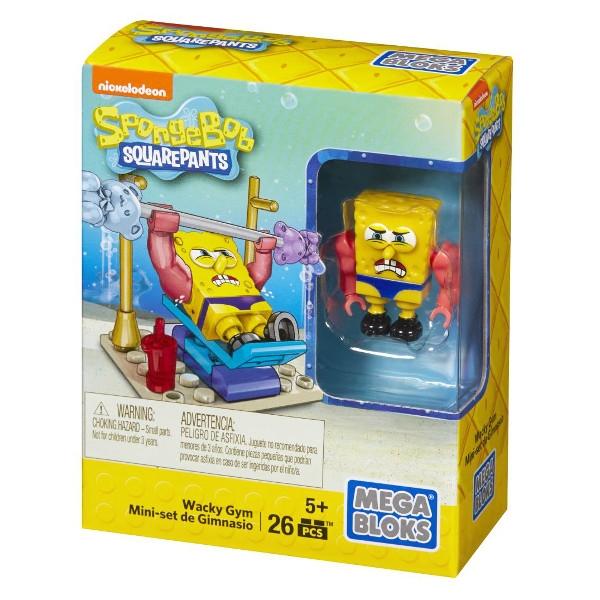 MEGA BLOKS SpongeBob Minizestaw (CNF62/CNF63)