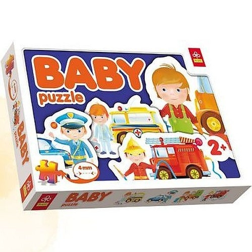 Pojazdy interwencyjne Baby Puzzle  (36032)