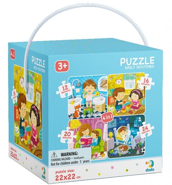 Puzzle 4w1: Mój dzień (DOP300130)