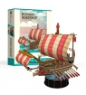 Puzzle 3D: Żaglowiec Roman Warship - zestaw S (306-24032)