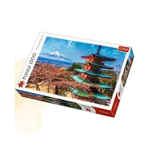 Puzzle Góra Fudżi 1500 (26132)