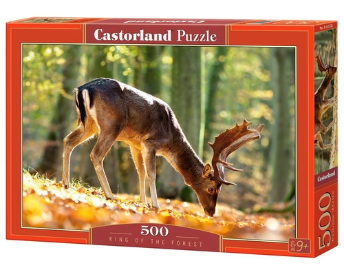 Puzzle 500: King of the Forest