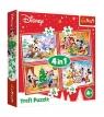 Puzzle 4w1 Świąteczny czas