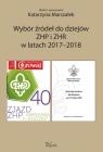 Wybór źródeł do dziejów ZHP i ZHR w latach 2017-2018 Marszałek Katarzyna