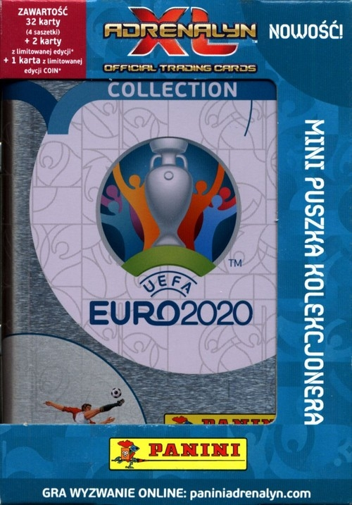 Karty UEFA EURO 2020 Adrenalyn XL Mini puszka