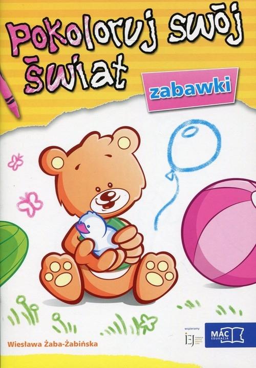Pokoloruj swój świat Zabawki Żaba-Żabińska Wiesława