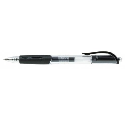 Długopis żelowy Mastership, 20 szt. - czarny (183035)