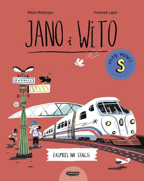 Jano i Wito uczą mówić S. Ekspres na stacji Wiola Wołoszyn