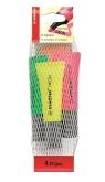 Zakreślacz Stabilo neon 4 sztuki mix