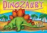 Kolorowanka. Dinozaury mała - Dinozaur zielony (A5, 12 str.)