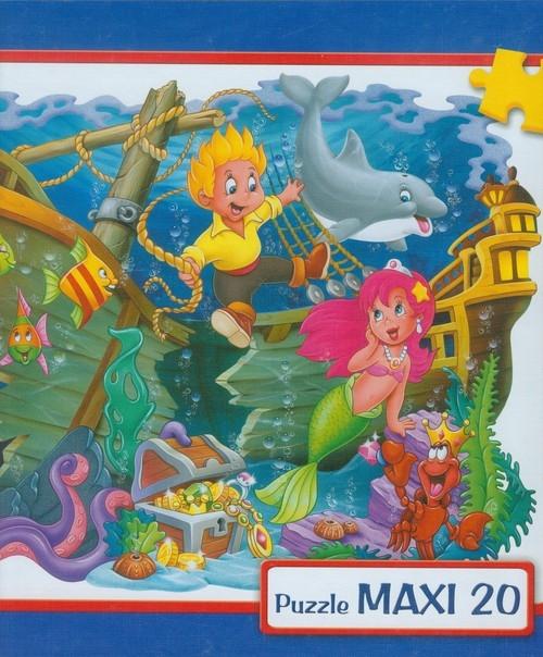 Puzzle Maxi 20 Mała Syrenka