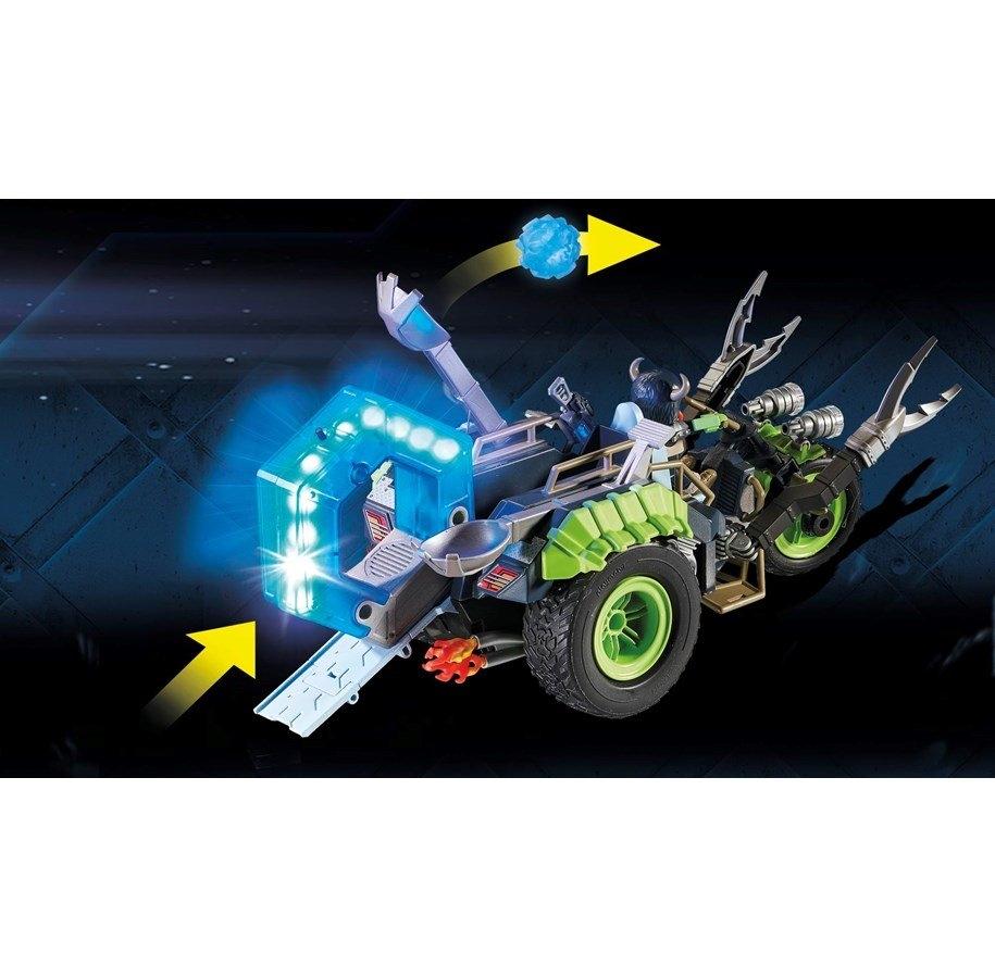 Playmobil Top Agents: Arktyczni rebelianci Lodowy trójkołowiec (70232)