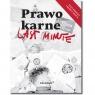 Last minute. Prawo karne 2020