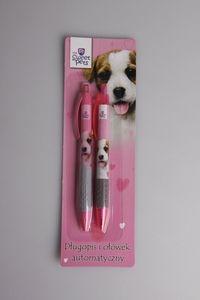 Długopis i ołówek automatyczny Pies