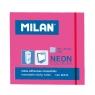 Karteczki samoprzylepne Milan Neon, różowe (85432)