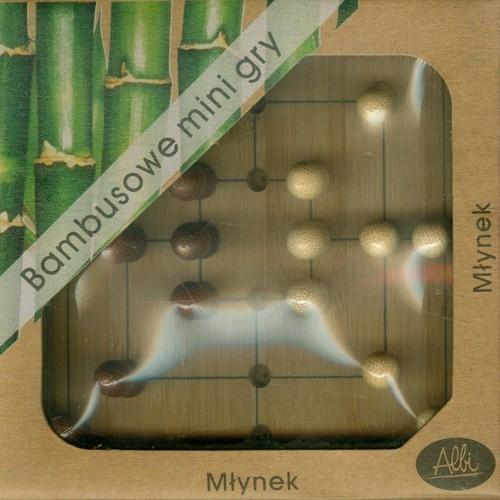 Bambusowe mini gry Młynek