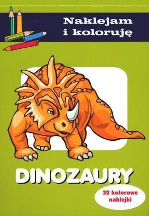 Dinozaury. Naklejam i koloruję Wiśniewska Anna