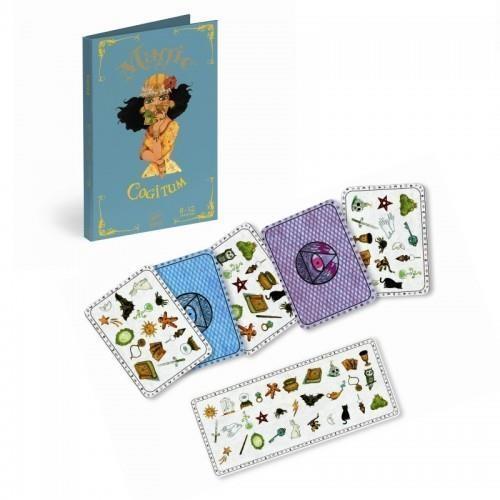 Magiczny zestaw z kartami Cogitum