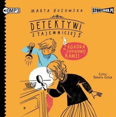 Detektywi z Tajemniczej 5 T.1 audiobook (Audiobook) Marta Guzowska