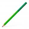 Ołówek Jumbo Grip Two Tone Faber-Castell - zielony (111932 FC)