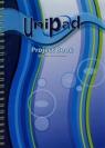 Kołozeszyt A4 Pukka Pad Unipad w kratkę 200 stron niebieski