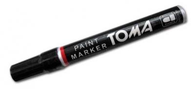 Marker olejowy czarny (12szt) TOMA