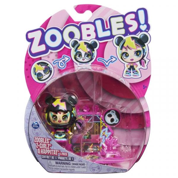 Figurka Zoobles Laleczka 1-pak Panda (6061365/20134947)