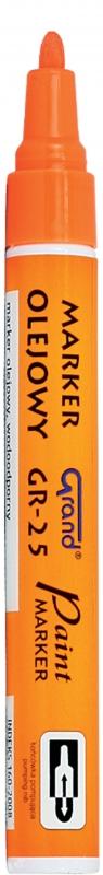 Marker olejowy GR-25 Grand pomarańczowy