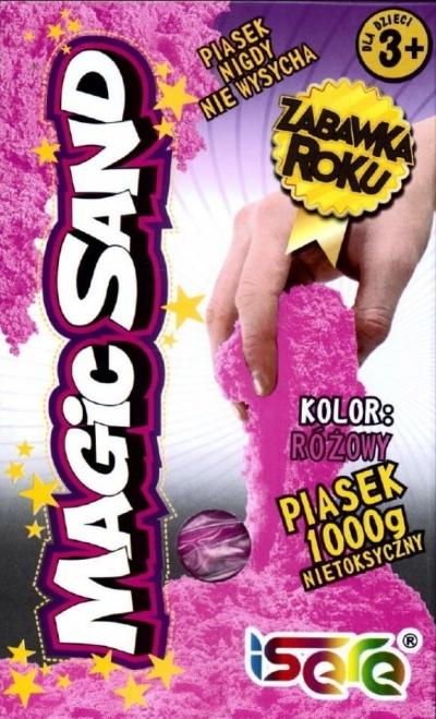 Magic Sand - różowy piasek 1kg