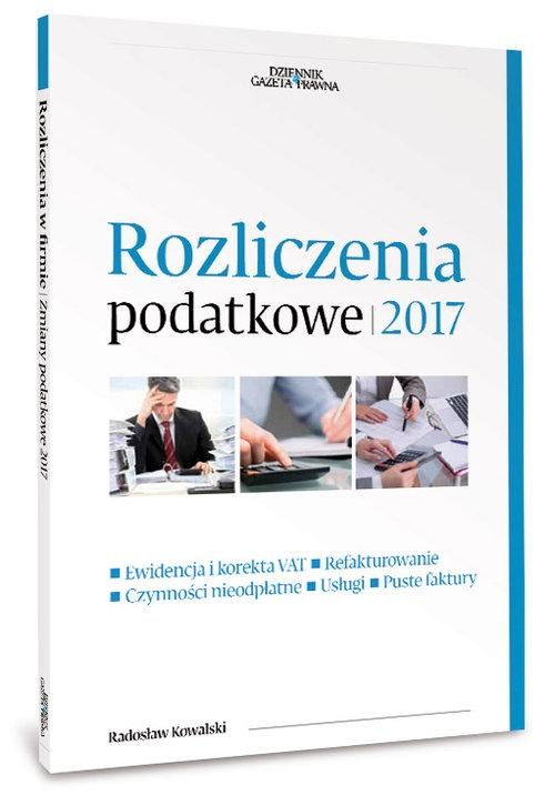 Rozliczenia podatkowe 2017 Kowalski Radosław