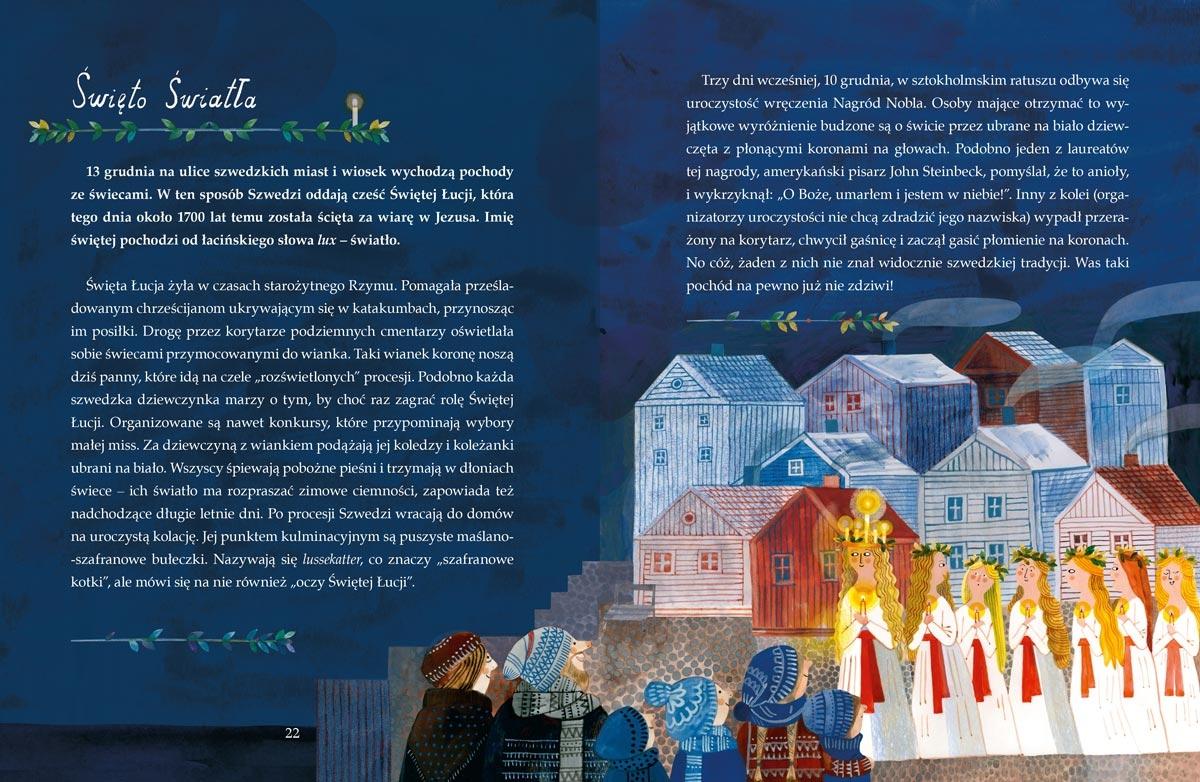 Idą święta! O Bożym Narodzeniu, Mikołaju i tradycjach świątecznych na świecie Utnik-Strugała Monika
