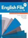 English File. Język angielski.Pre-Intermediate Multipack B + online practice. praca zbiorowa