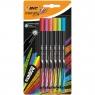 Cienkopisy BIC Intensity Fine, 6 kolorów - Rainbow (950444)