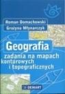 Geografia zadania na mapach konturowych i topograficznych