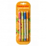 Długopis usuwalny Happy Color 0,5mm, 4 szt. - niebieski (HA AKPB1471-3 BK3)