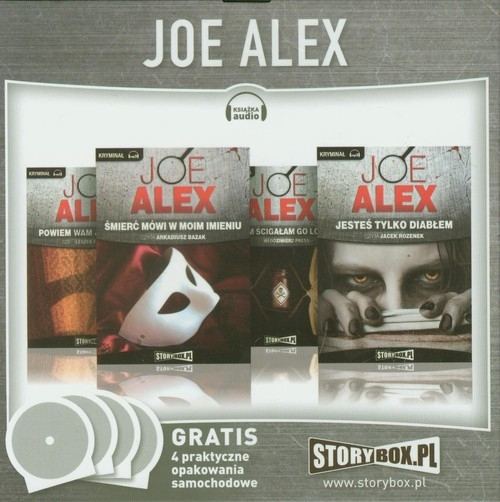 Joe Alex Powiem wam, jak zginął / Śmierć mówi w moim imieniu / Cichym ścigałem go lotem / Jesteś tylko diabłem  (Audiobook) Alex Joe