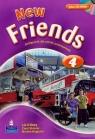 New Friends 4 Podręcznik z płytą CD Kilbey Liz, Skinner Carol