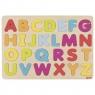 Puzzle literki - kolory pastelowe (57732)