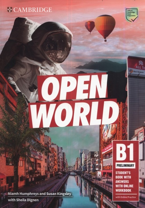 Open World Preliminary Student's Book with Answers with Online Workbook Humphreys Niamh, Kingsley Susan, Dignen Sheila