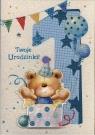 Karnet Roczek Chłopiec HM-200-1407