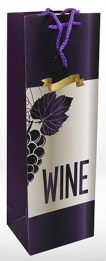 Torebka prezentowa na wino 1399-2