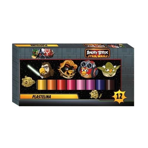 Plastelina 12 kolorów Angry Birds