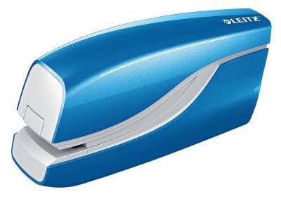 Zszywacz Leitz Wow elektryczny niebieski 10 k. (55661036)