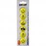 Magnesy Fun&Joy Smiley okrągły - żółty (413430)